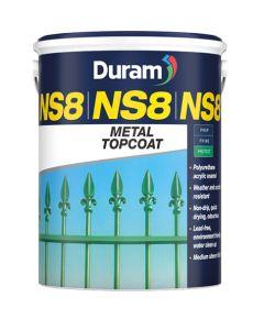 DURAM NS8 METAL TOPCOAT WHITE 5L