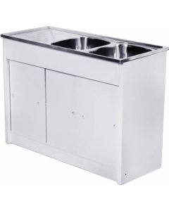 CAM AFRICA KD1200/2 KITCHEN UNIT+SINK 1200X480MM