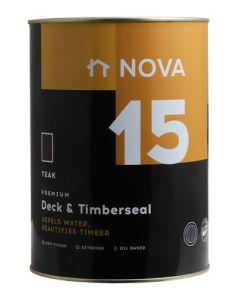 Nova 15 N15TEA Premiun Deck & Timberseal 5L Teak
