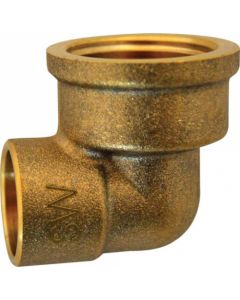 COPPER 90DEG ELBOW 15MM