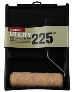 HAMILTON'S UTILITY WOOLPRO ROLLER & TRAY 225MM