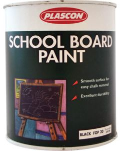 PLASCON SCHOOL BOARD PAINT 1L