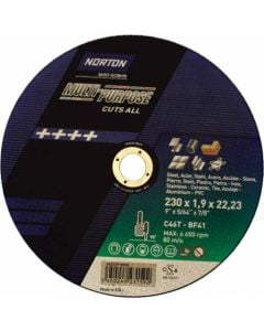 NORTAN MULTI PURPOSE CUTTING DISC