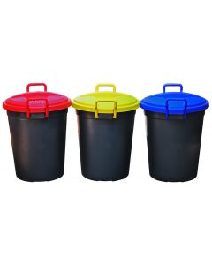 70L PLASTIC RECYCLE REFUSE BINS DG0212