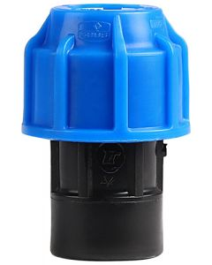 MARLEY ##521.200 HDPE COMPRESSION END CAP 20MM