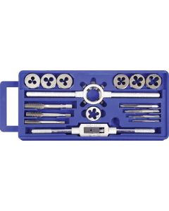 TAP AND DIE CUTTER SET WITH PLASTIC CASE 16 PIECE