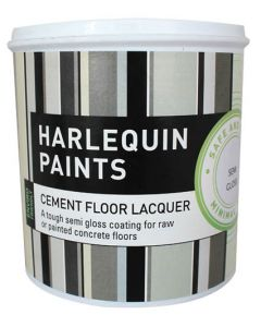 HARLEQUINS VARNISH CEMENT LOW GLOSS 1L