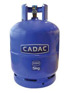 CADAC 84-0017 GAS CYLINDER #10 S-TYPE 5KG (EMPTY)