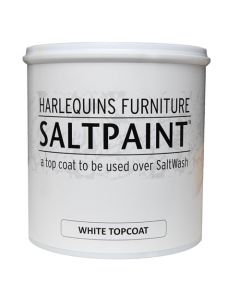 HARLEQUIN'S FURNITURE SALT PAINT TOP COAT 1L