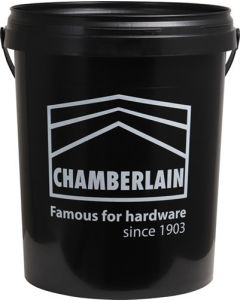 CHAMBERLAIN NO12260 BLACK CLEANING BUCKET 20L