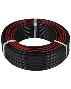 APEX BLACK/RED CABLE RIPCORD 4MMX20M