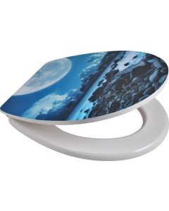 SUPERSEATS GTS12676 MOONLIGHT SHORE TOILET SEAT