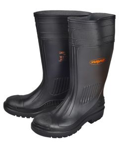 PROCON GRIPPER KNEE GUMBOOT BLACK