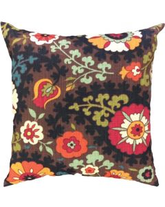 GREY GARDENS BURNT FLOWER SCATTER CUSHION