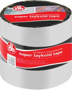 ABE SUPER LAYKOLD WATERPROOFING TAPE ALUMINIUM 100MMX10M