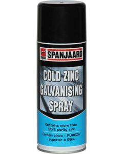 SPANJAARD SPN0179 COLD ZINC GALVANIZING SPRAY 400ML