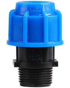 MARLEY #511.25D HDPE COMPRESSION MALE ADAPTOR 25MMX1 IN