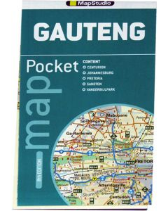 GAUTENG POCKET MAP 9TH EDITION