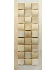 BASKET WEAVE BIG BLOCKS 813 DOOR