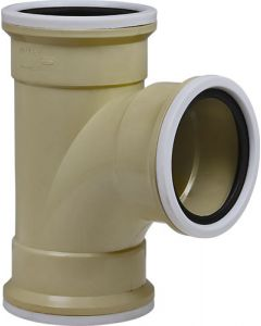 MARLEY PIPES  UY42 PVC  87.5° SQUARE JUNCTION 110MM