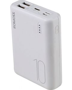 ROMOSS PSL10-101-1134 10000MAH SAMPLE10 WHITE POWER BANK