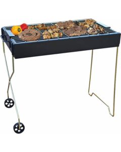 LK'S 113/2 BRAAI TROLLEY 600X350MM M/S