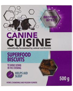 CANINE CUISINE SUPERFOOD BISCUITS 500G