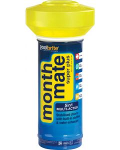 POOLBRITE MONTH MATE SUPER PLUS FLOATER 5 IN 1 MULTI ACTION FLOATER