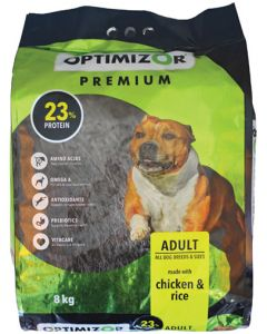 OPTIMIZOR RI500008 PREMIUM ADULT DOG FOOD 8KG
