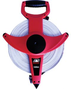 ROSS F7717 TM8F FIBREGLASS MEASURING TAPE 100m