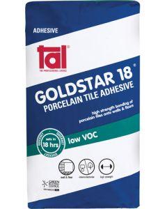 TAL TFGOL11306 GOLDSTAR 18 PORCELAIN TILE ADHESIVE 20KG
