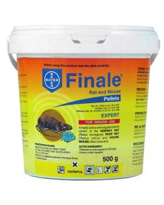 BAYER FINALE RAT AND MOUSE PELLETS 500G