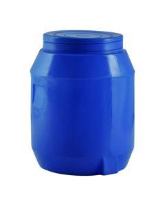 JOJO 50LTROB BLUE SCREW-ON-LID WATER DRUM 50L