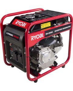 RYOBI RG-2600I 2.5KVA OPEN FRAME INVERTER GENERATOR