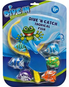 MAJORS FOR MINORS WF-4 CATCH TROPICAL FISH TOY