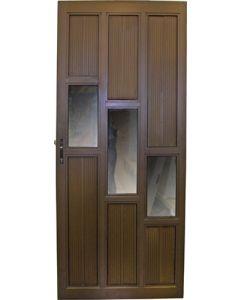 ALUMINIUM DOOR BRONZE 900X2100 STEPPED