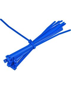 CABLE TIES BLUE 100X2.5MM 100 PACK