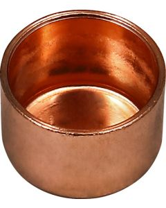 SPLASHWORKS BG290R/1/1 COPPER END CAP CXC 15MM
