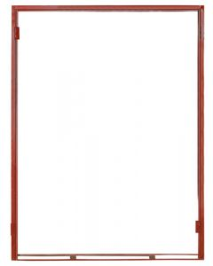 DOUBLE STEEL DOOR FRAME 1511X2032X115X(TRAD 1.2M) SDF239