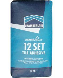 CHAMBERLAIN 12 SET TILE ADHESIVE 20KG