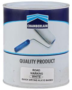 CHAMBERLAIN WHITE ROAD MARKING PAINT 1L