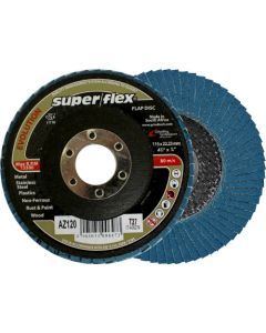 SUPERFLEX FLAP DISC 115X22MM P120