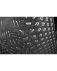 CASTOR & LADDER EX-PL ALUMINIUM TREAD PLATE SHEET 0.6X1.25M