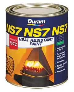 DURAM HEAT RESISTANT BLACK NS7 1L