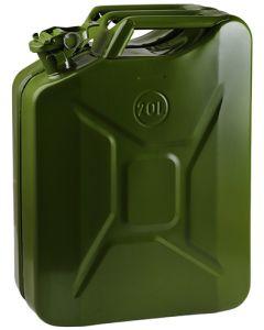 KAUFMANN HW2570432 GREEN PETROL METAL JERRY CAN 20L