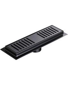 GIO A1013-250/MB SHOWER CHANNEL 250MM MATT BLACK