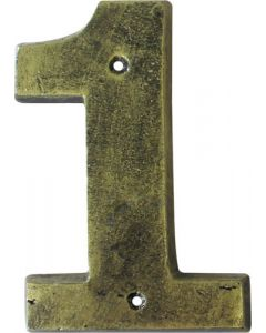 ALESSA ANTIQUE GOLD NUMERAL 1 (200MM)
