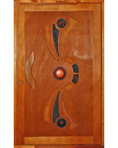 WILD EAGLE MIXED TIMBER PIVOT DOOR 1286x2120