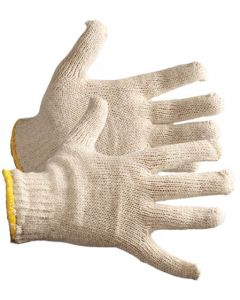 GLOVE COTTON KNITTED