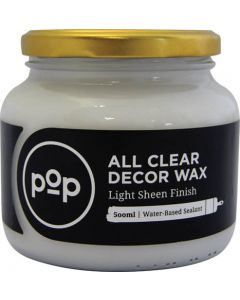 POP ALL CLEAR DECOR WAX 500ML